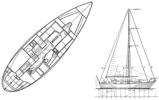Fast Passage 39 boat plans